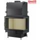 wkład kominkowy z płaszczem wodnym Unico Nemo 4B  24 kW Top Eco prawa szyba dzielona