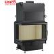 wkład kominkowy z płaszczem wodnym Unico Nemo 4B 24 kW Top Eco lewa szyba dzielona